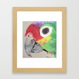 Pretty Polly Framed Art Print