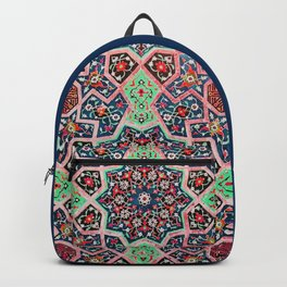 V16 Special Colored Traditional Moroccan Design. Backpack