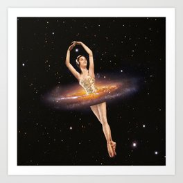 Cosmic Ballerina, Part 1 Art Print