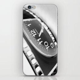 time iPhone Skin