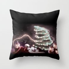 Halloween Year Throw Pillow