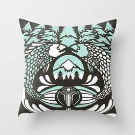 Astrology Northwest: Pisces Throw Pillow
