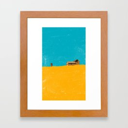 lost place-4 Framed Art Print
