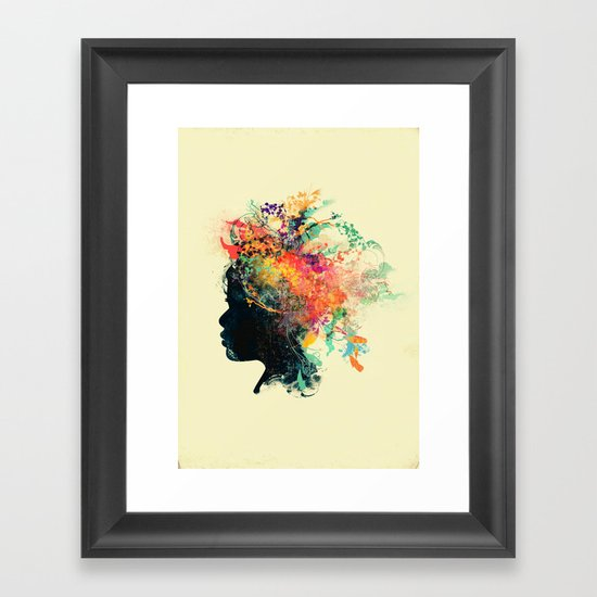 Wildchild (aged ver) Framed Art Print
