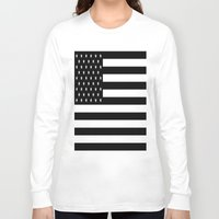 flag Long Sleeve T-shirts featuring Flag by Blindspots Arts