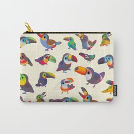 Toucan - pastel Carry-All Pouch