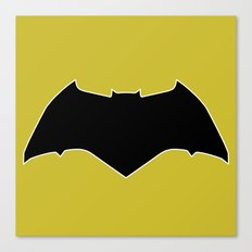Dawn of Justice : Bat Symbol Canvas Print