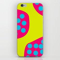 Green Purple Dots iPhone & iPod Skin