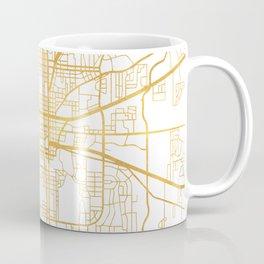 TALLAHASSEE FLORIDA CITY STREET MAP ART Coffee Mug