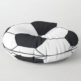 World Cup Soccer Ball - 1970 Floor Pillow