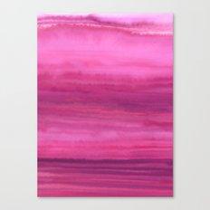 Waves - Sunset Canvas Print