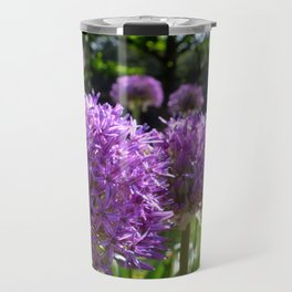 Purple Allium Giganteum Travel Mug