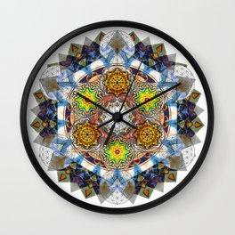 Upwards - The Mandala Collection Wall Clock