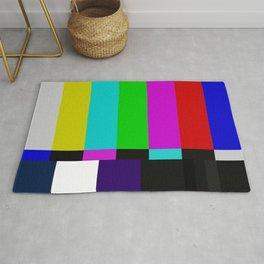 TV bars color testTV bars color test Rug