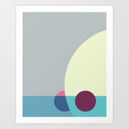 Cacho Shapes LXXXI Art Print