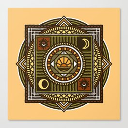 MoonWitch Canvas Print