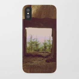 Tree view iPhone Case