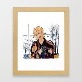 """Found it!  In Kentville, Nova Scotia.        by Kay Lipton Framed Art Print"