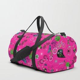 Cycledelic Pink Duffle Bag