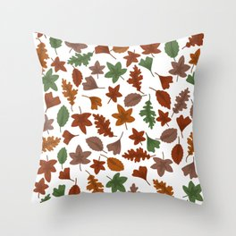 Autumn leaves #6 Throw Pillow
