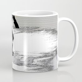 On the Move - Hockey Player Coffee Mug