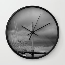 Queens Ferry Crossing Wall Clock