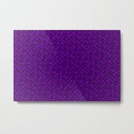 Control Your Game - Tradewinds Purple Metal Print