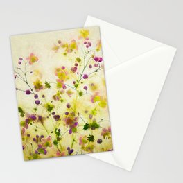 Petite fleurs Stationery Cards