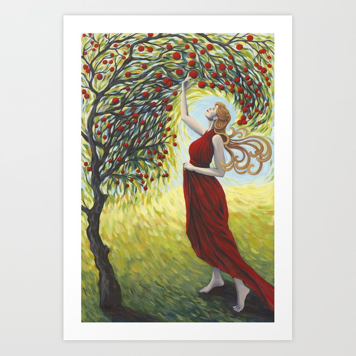 Blessing the Harvest (2016) Art Print