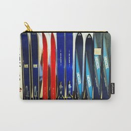 Vintage Ski Collection Carry-All Pouch