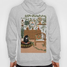 plant lady is the new cat lady Hoody