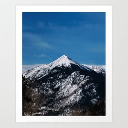 Red Mountain, Colorado Art Print