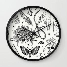 Wishing Spells Wall Clock