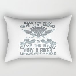 Bikers Code Rectangular Pillow