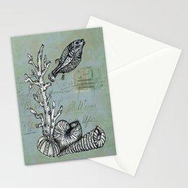 Vintage Shells Stationery Cards