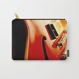 Jazz Guitar Closeup Carry-All Pouch