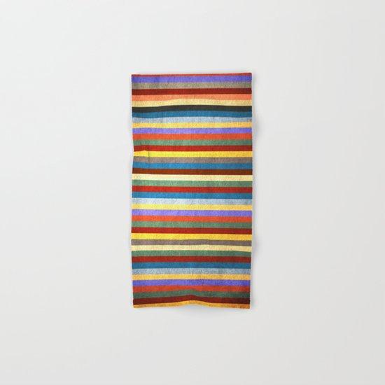 Crazy Stripes Hand & Bath Towel
