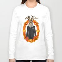 jackalope Long Sleeve T-shirts featuring Jackalope Evolved by Silvio Ledbetter