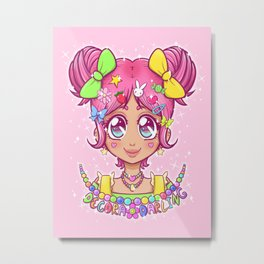 Decora Darling Metal Print
