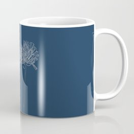 Agapanthus Blueprint Coffee Mug