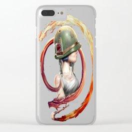 Dragon Gir Clear iPhone Case
