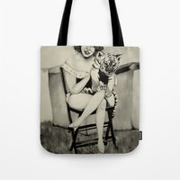 circus Tote Bags featuring Circus. by Lydia Dick