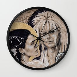 """And I have done it all for you"" Wall Clock"