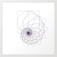 #543 The sum of all things – Geometry Daily Art Print