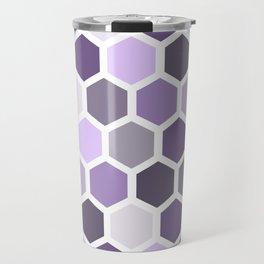 Colorful honeycomb pattern 2 Travel Mug