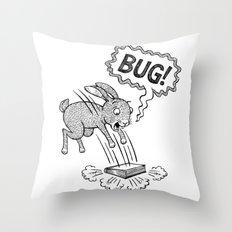 BUG! Throw Pillow