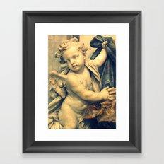 The Hallelujah Cherub. Framed Art Print