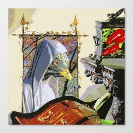 Monk 'D' Canvas Print