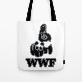 WWF PANDA FUNNY Tote Bag