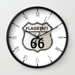 Flagstaff Route 66 Wall Clock